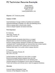 sample resume about computer skills computer  seangarrette cosample