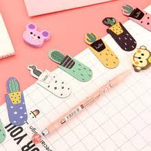 <b>Cactus Magnetic Bookmarks</b> 3 pcs Set