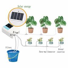 Newest Intelligent Garden <b>Automatic Watering Device</b> Solar Energy ...