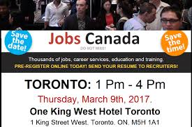 toronto job fair thursday th