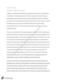 aos change essay year hsc english advanced thinkswap aos change essay