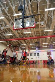 u s department of defense photo essay the british armed forces wheelchair basketball team takes a shot while playing against the u s army