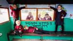 Trefonen pupils create a new-look shelter