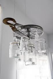 diy vintage lookng mason jar chandelier diy vintage mason jar chandelier