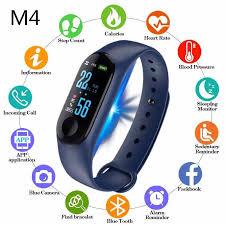 MiHOME <b>M4 Bluetooth Smart</b> Watch Bracelet Call Fitness Tracker ...