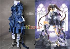 Pandora Hearts <b>Cosplay</b> Alice <b>Bloodstained</b> Black Rabbit <b>Costume</b>
