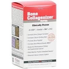 Natural Factors, <b>BioSil</b>, <b>Bone Collagenizer Ultra</b>, 40 Vegetarian ...