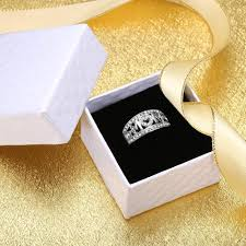 <b>Personalized Mothers Rings</b> Silver Plated <b>Ring</b> with Some Chips ...