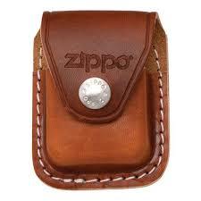 Чехол <b>Чехол Zippo для зажигалки</b>, кожа, с металлическим ...