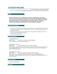 example of objectives for resume for working student sgl woqi    student resume sample template