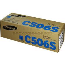 Купить <b>SAMSUNG CLT</b>-<b>C506S картридж</b> голубой по лучшей цене ...