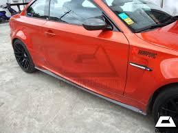 BMW <b>E82</b> 1M Revozport Style <b>Side</b> Skirt w/ <b>Carbon Fiber</b> – Carbon ...