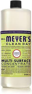 Mrs. Meyer's <b>Clean</b> Day <b>Multi</b>-<b>Surface Concentrate</b>, 946ml, <b>Lemon</b> ...
