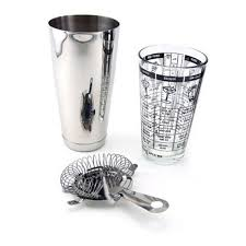 <b>3 Piece Bar</b> Cocktail Shaker Kit - Buy Online in Burundi. | home bar ...