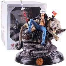Anime One Piece Trafalgar Law PVC GK Statue Trafalgar D Water ...