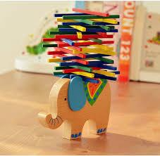 <b>Baby Toys Educational</b> Elephant/<b>Camel</b> Balancing Blocks Wooden ...