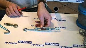 Guy <b>Wire Tensioner</b> - YouTube
