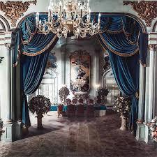 Fairy Tale Rainbow <b>Princess Castle</b> Backdrop Photography Curtain ...