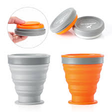Silicone Travel <b>Retractable</b> Cup Folding Coffee Cup <b>Telescopic</b> ...