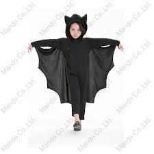 Boys Girls Halloween Clothing Kids <b>Black Vampire Bat Cosplay</b> ...