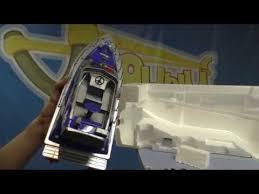 Распаковка катера <b>Heng Tai</b> Police Speed Boat HT-2875F - YouTube