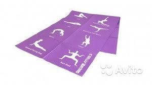 Складной <b>коврик для йоги original</b> fittools 4 мм (с купить в ...