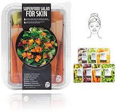Buy Salad B, 7 Pcs: Innerest <b>Superfood Salad</b> Beauty Facial Sheet ...
