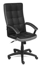Купить <b>офисное кресло Tetchair TRENDY</b> (Black/Grey) в Москве в ...