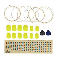 <b>Guitar</b> Trainer Kit, <b>Guitar Sound Sticker</b> Fingertip String Pickup Kit ...