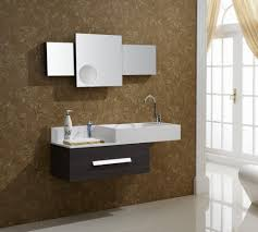single bathroom vanity add asymmetrical design contemporary single sink floating vanity