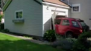Image result for crashed garage door