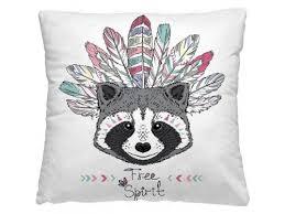 Купить <b>подушку декоративную</b> Волшебная ночь (<b>40x40см</b>) Енот ...