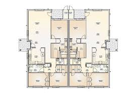 Two Story Duplex House Plans   thorbecke co    Oct       Good Two Story Duplex House Plans   Bedroom Duplex Floor Plans
