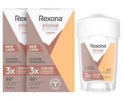2 x Rexona Clinical Protection <b>Antiperspirant Deodorant Summer</b> ...