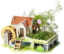 <b>3D</b>-<b>пазл Zilipoo</b> 3D Радужный дом (Z-006), 29 дет. — <b>Пазлы</b> ...