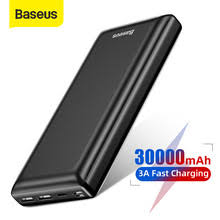 Портативное <b>зарядное устройство Baseus</b>, 30000 мАч, Type-C ...