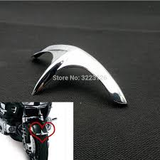 High Quality Chrome <b>Fairing</b> Front Fender Tip Accessories For ...
