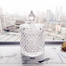 Рельефный Алмазный Узор Кристалл Стеклянная <b>емкость для</b> ...