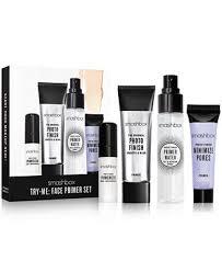 <b>Smashbox</b> 4-Pc. <b>Try</b>-<b>Me</b>: <b>Face Primer</b> Set & Reviews - Makeup ...