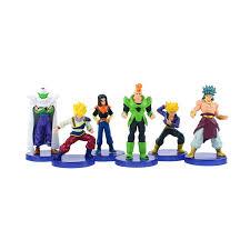 <b>6pcs</b>/lot <b>Dragon Ball</b> Figures Son Goku Gohan Trunks Piccolo ...