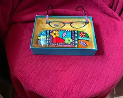 <b>Vintage hand painted</b> glasses | Etsy
