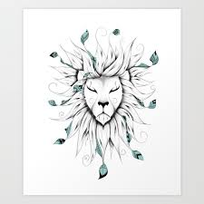 50 Amazing <b>Art</b> Prints Of <b>Lions</b> For Your Walls