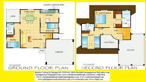 Small Double Storey House Plans Architecture    toobe House Floor Plan With Rooms And Decorations Contemporary Bedroom Furniturebedroom Furniture For New Modern Small Contemporary