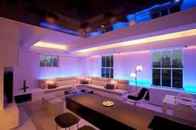 a stylish two in one apartment with mood lighting bedroom mood lighting design