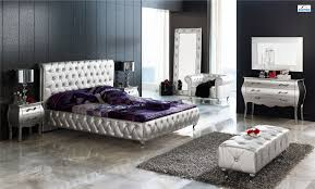 Silver And Purple Bedroom Queen Bedroom Sets High Quality Product With Affordable Price