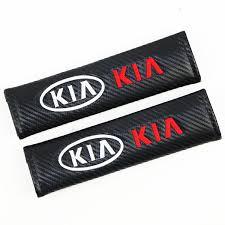 <b>2PCS Car</b> Seat Belt Cover <b>Car Styling Auto</b> Case For Kia rio ceed ...