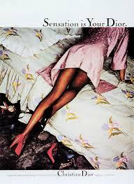 Chris von Wangenheim, photo for <b>Dior</b> hosiery ad, 1979. Agency ...