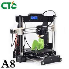 <b>CTC A8 3D Printer</b> DIY High Accuracy Desktop Prusa i3 DIY Kit LCD ...