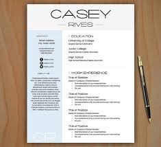 stylish resume template free cover letter by theprintableemporiumstylish resume template   free cover letter   easy to edit   instant download   mac