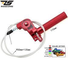 Cheapest ZS Racing 22mm <b>CNC Aluminum</b> Acerbs Throttle Grip ...